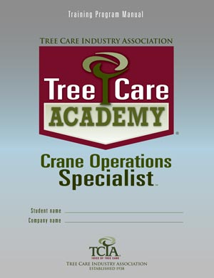 Tree Care Academy Crane Operations Specialist cover