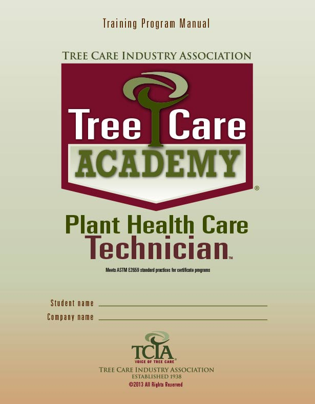 Plant Health Care Technician manual
