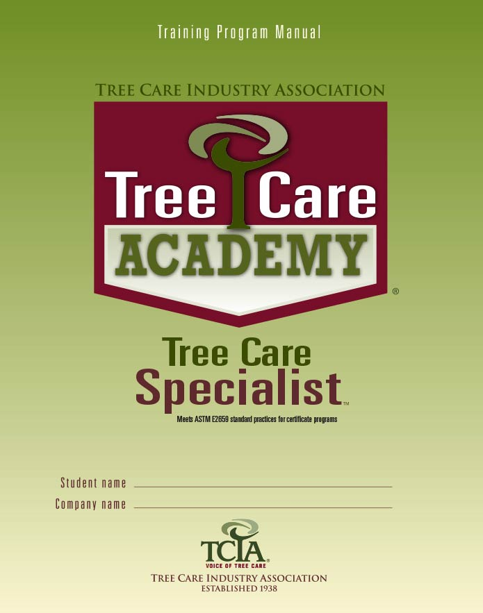 Tree Care Specialist manual