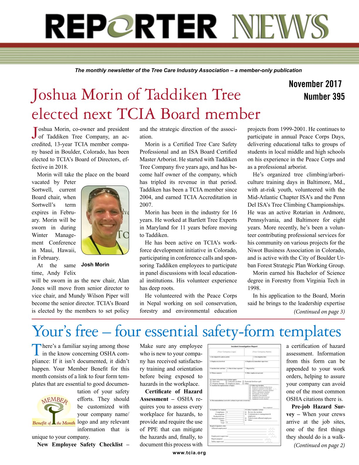 Tcia reporter november 2017 tci magazine the official publication of the tree care industry association 1betcityfo Image collections