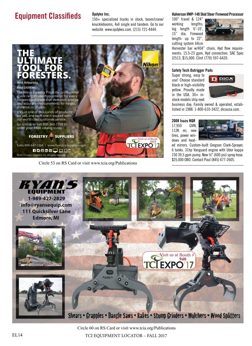 TCI Equipment Locator Fall 2017