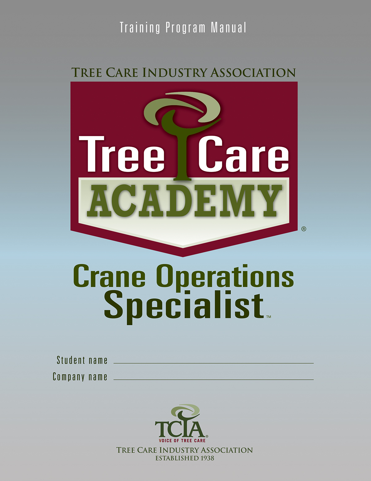 Tree Care Academy Crane Operations Specialist