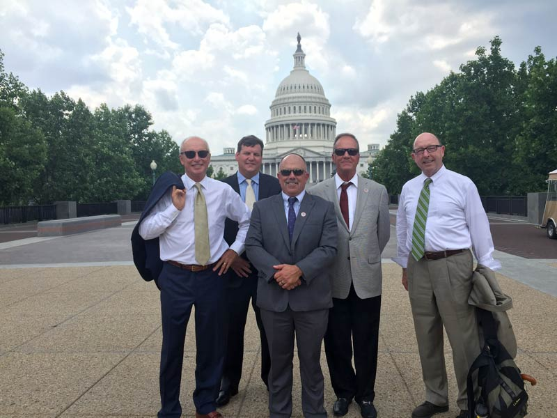 TCIA members at Capitol Building