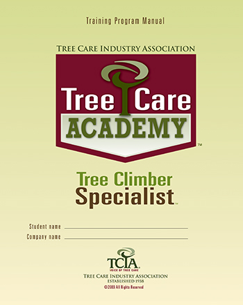 Tree Climber Specialist manual