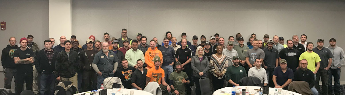 Certified Treecare Safety Professional CTSP workshop participants