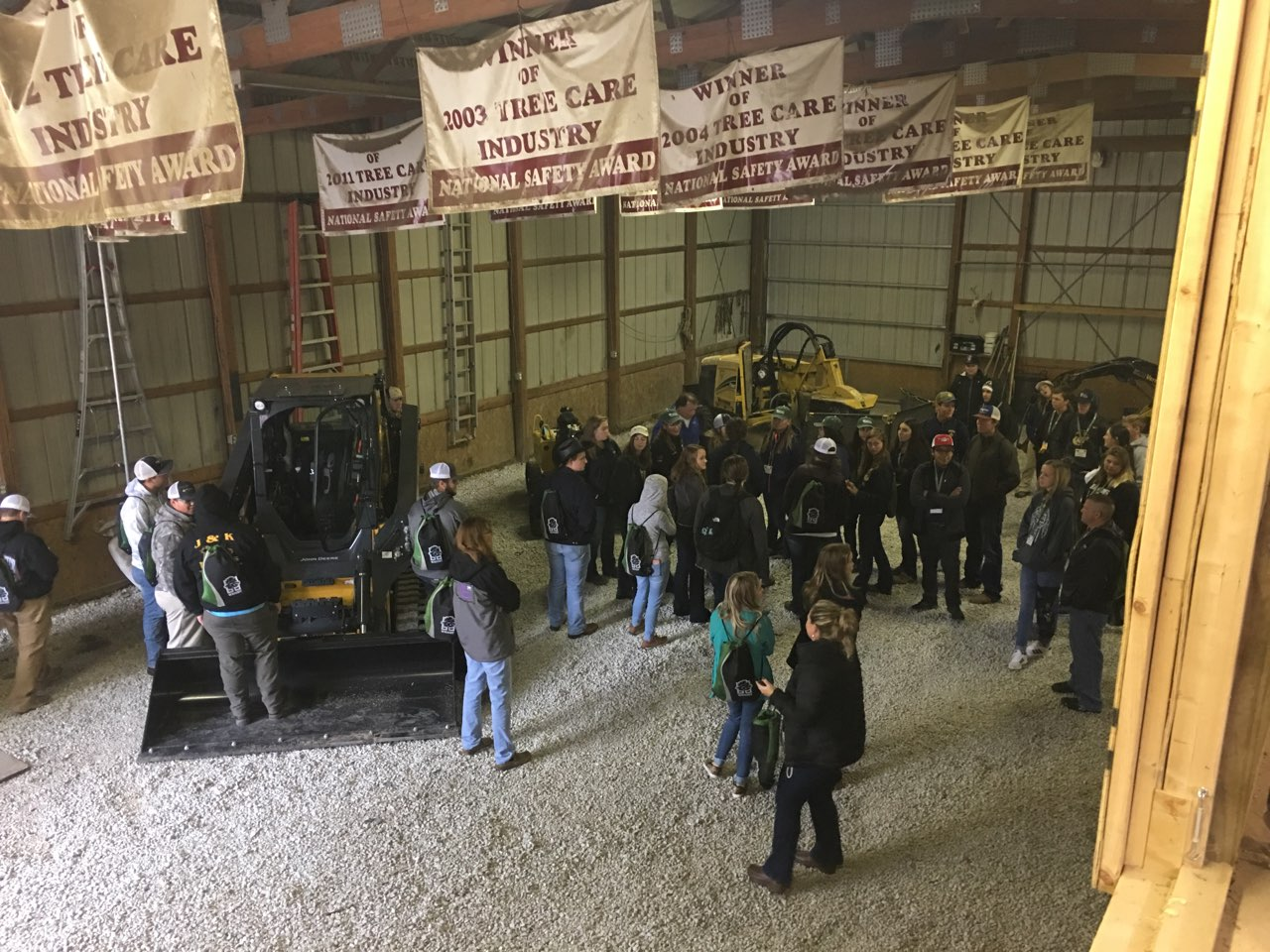 FFA students tour Vine & Branch for Career Success Tour
