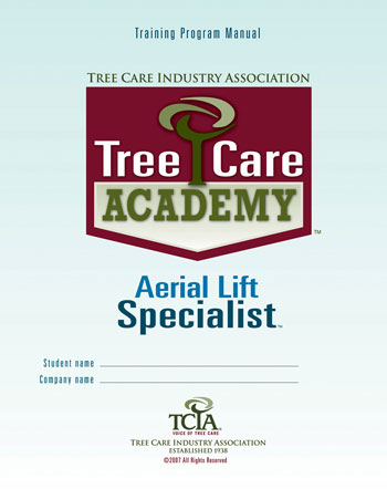 Tree Care Academy Aerial Lift Specialist - English