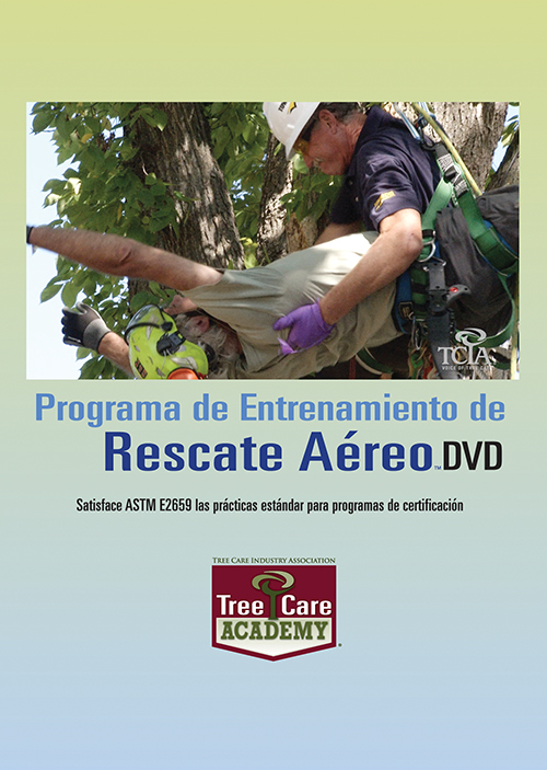 Tree Care Academy Aerial Rescue DVD Kit - Spanish