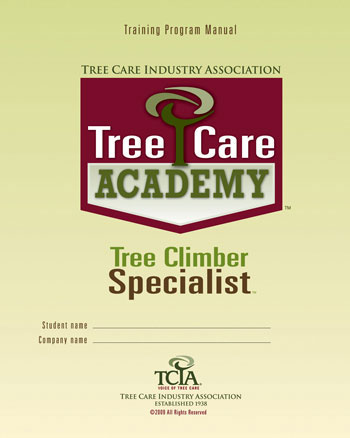Tree Care Academy Tree Climber Specialist - English